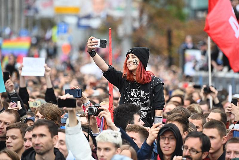 Протестная карнавальная культура